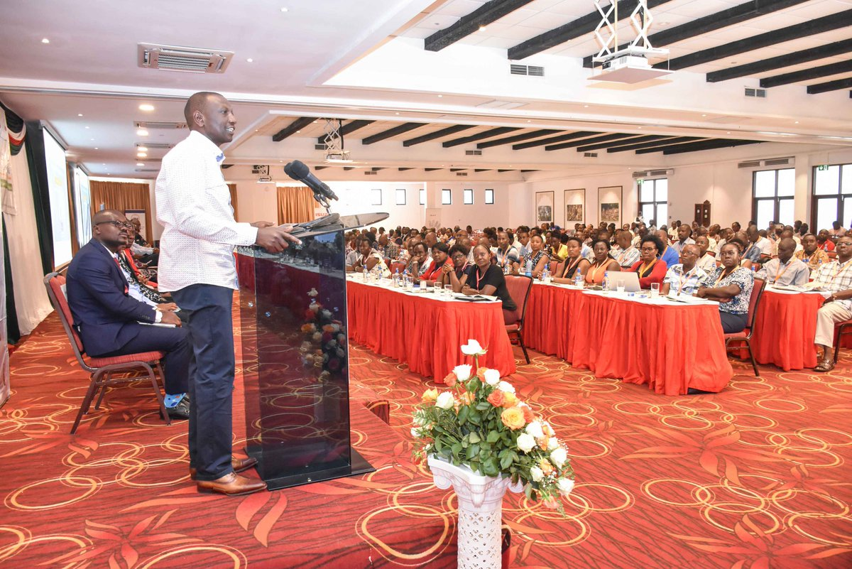 DP Ruto denies that people have died of hunger in the country as a chief is  interdicted