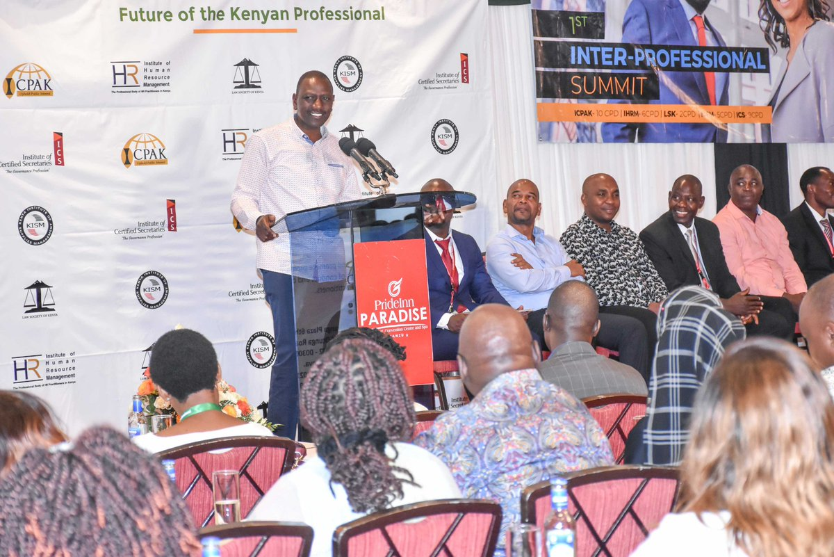 DP Ruto defends construction of Dams in the country,says its the only way to ensure water sufficiency