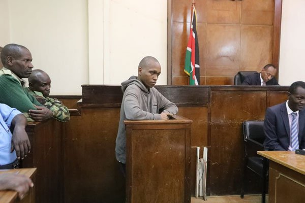 Naftali Kinuthia charged with Ivy Wangechi's murder,to  be detained until May 9