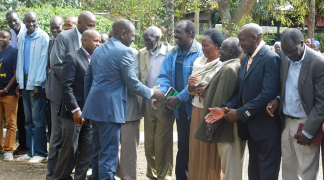 DP Ruto pays  a visit to  the family of  Jonathan Moi,Condoles with them