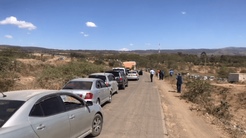 One person dies after a head on collision accident along Nakuru-Eldoret highway