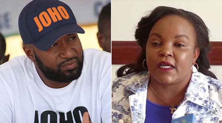 You have 5 days to pay or be sued ,Mombasa governor Hassan Joho and  Purity Ngirici told