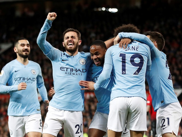 Man City take giant stride towards title with derby win over Manchester United