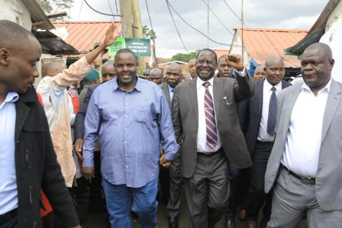 Prepare for sweeping changes in political arena, says  Odinga