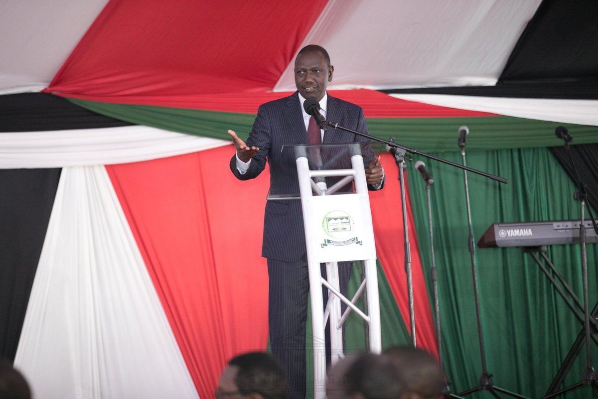 DP Ruto says whatever wealth he has is by God's grace ,vows to continue  with his donations to churches