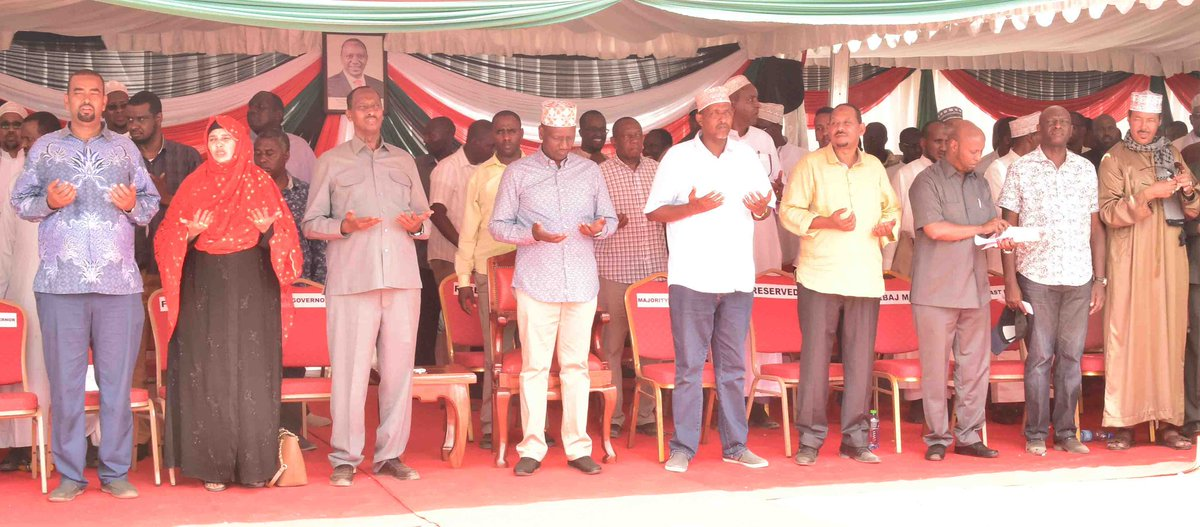 Image result for images of Ruto in Wajir