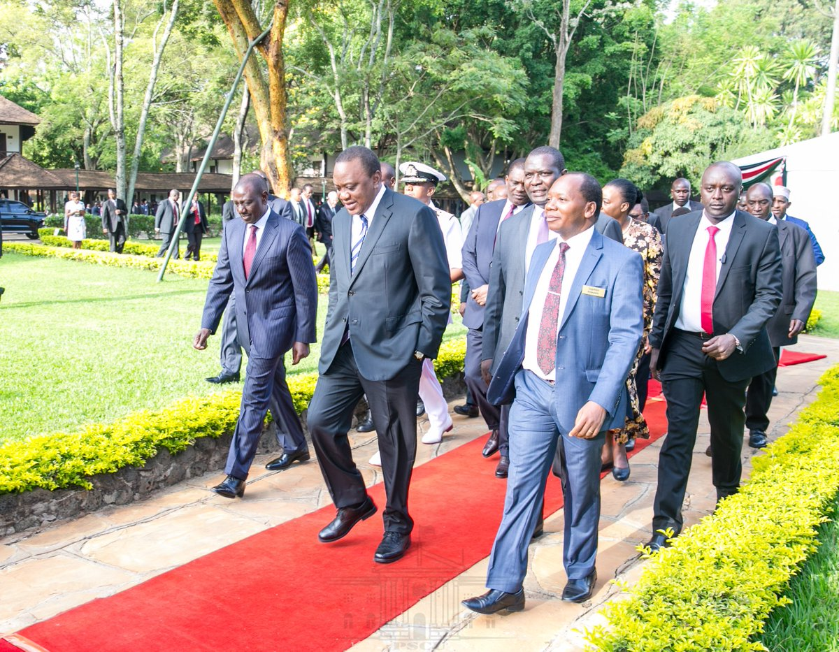 Please let us do as we say in war on graft,Uhuru tells leaders at the 17th annual National Prayer Breakfast