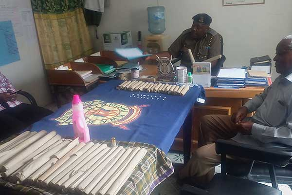Three arrested after they were found with bhang and heroin in Lamu