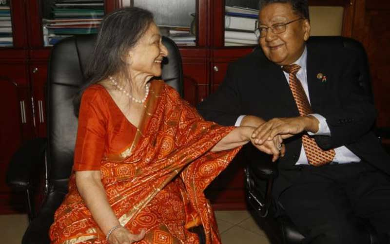 Celebration of love:Manu Chandaria solemnizes marriage after 64 years