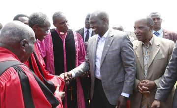 You have to dialogue on deadlock on division of revenue,DP Ruto tells governors and MPs