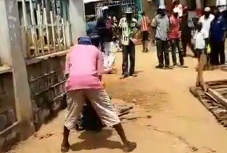 A man  captured in a widely circulated video hacking a suspected chicken thief  in Shinyalu to be arraigned .