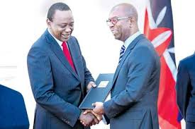 President Uhuru reveals his last minutes encounter with the late Bob Collymore
