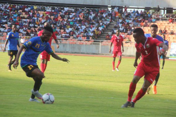 Harambee Stars hold Tanzania in the first leg of the first round Africa Nations Championships