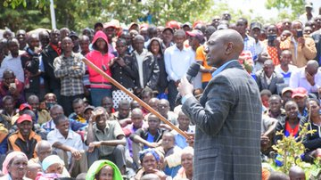 Be patient you  will all be enumerated before the end of the week-long census exercise,DP Ruto tells those yet to be counted