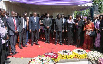 Bomet Governor Joyce Laboso buried in Kisumu as leaders call upon govt to declare cancer national disaster