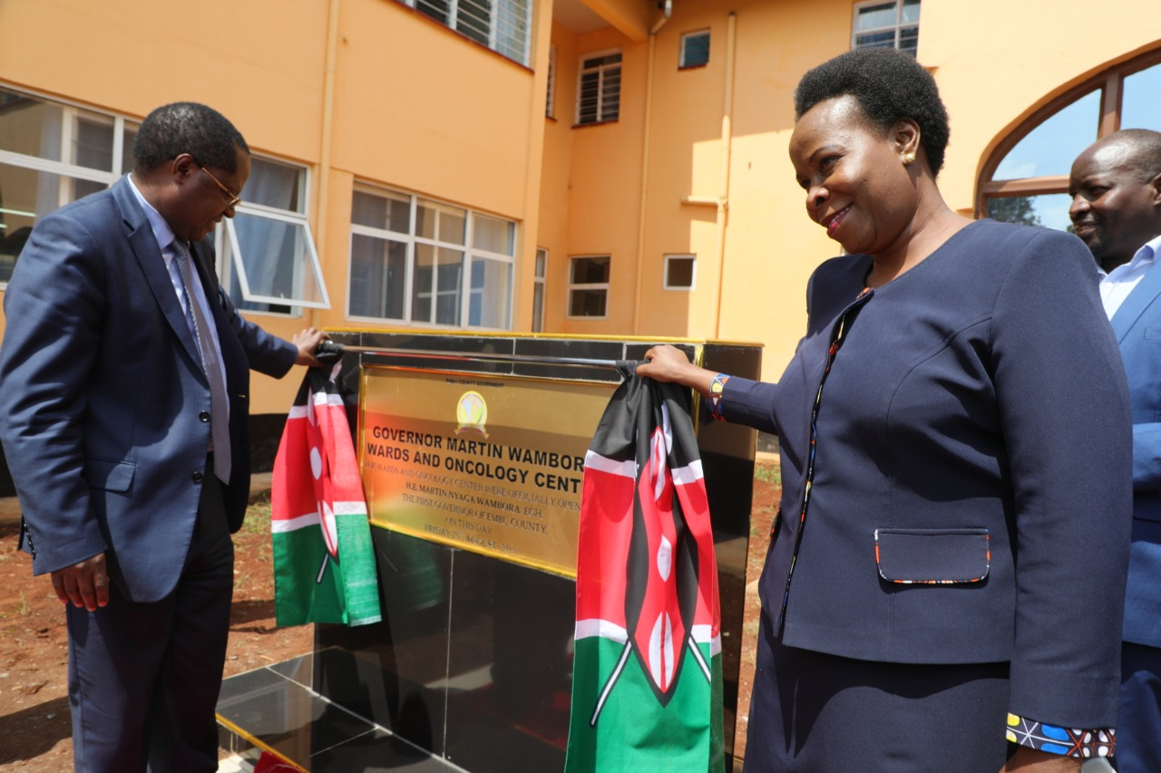 Milestone in health services delivery in Embu as county govt launches first Oncology programme