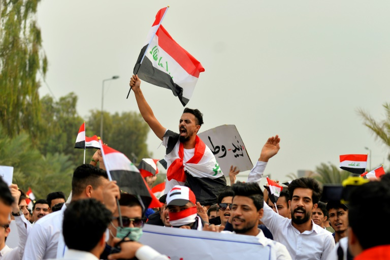 Students flood Iraq streets, defying government and parents