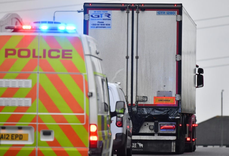 China embassy staff heading to UK site where 39 found dead in truck