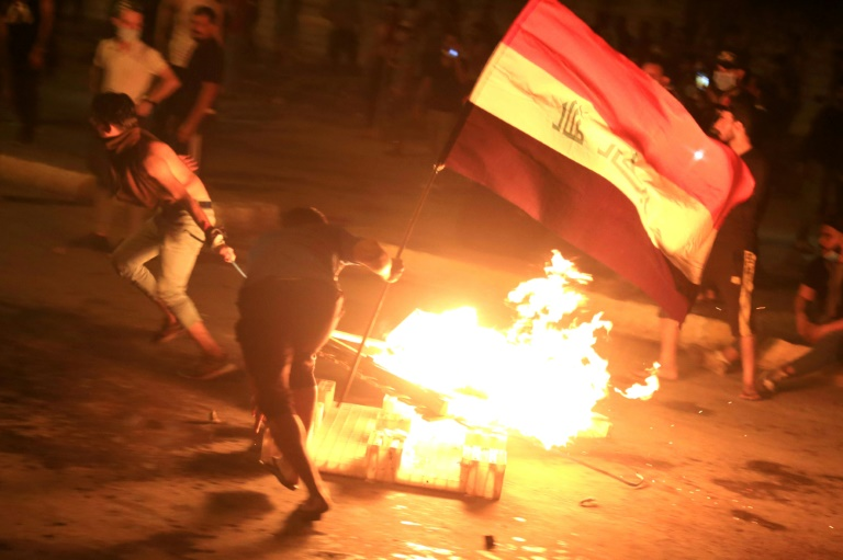 Students join Iraq protests, defying government and parents