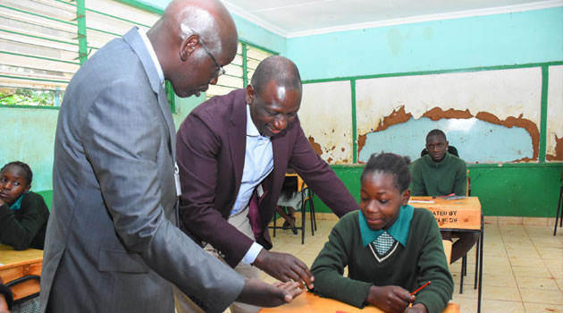 KCPE enters day 2 as  Govt assures 2019 KCPE candidates of slots in secondary schools
