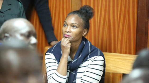 Sarah Wairimu Wants court to allow her access to Kitisuru Home, Car Released