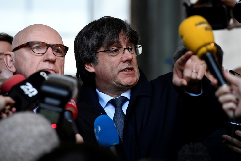 Former Catalan leader to fight Belgian extradition