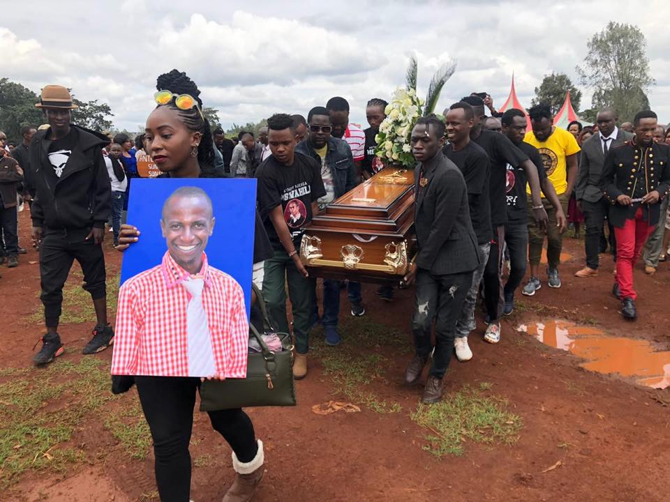 Until we meet again:Churchill Show Comedian Njenga Mswahili Laid To Rest At Lang'ata Cemetery Nairobi