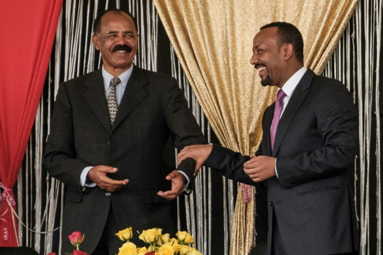 Eritrean president vows to 'bolster cooperation' with Ethiopia