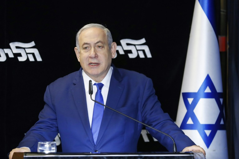 Israel's Netanyahu sweeps party primary in re-election boost