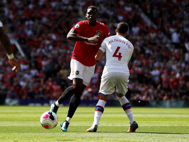 Paul Pogba named on Manchester United bench