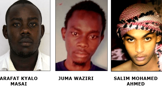 These three are armed and dangerous -Police