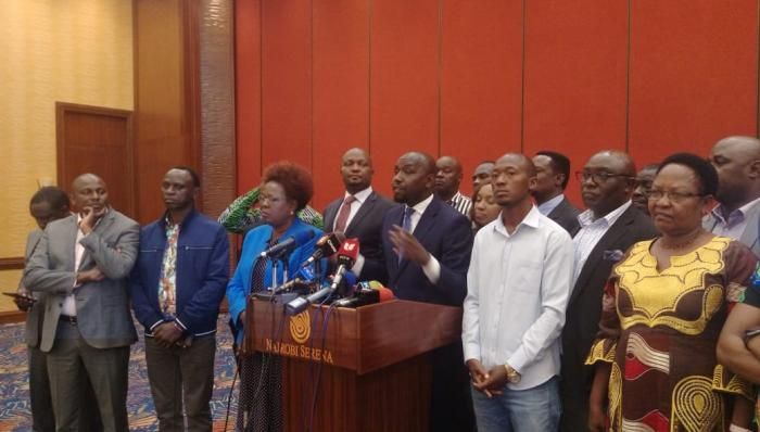 DP Ruto allied MPs now say they will back the BBI report,they however are opposed to using public funds in rallies