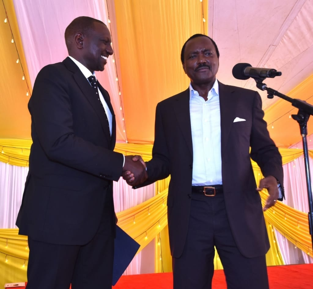 You worked with Raila twice and it failed work with me in 2022,DP Ruto tells Kalonzo