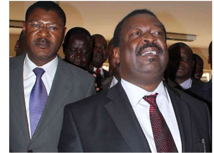 Mudavadi, Wetangula say Western is united, throwing vow to support   BBI