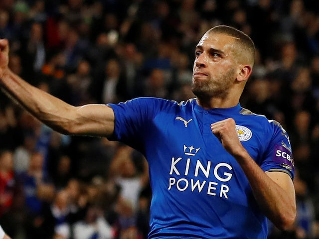 Tottenham Hotspur to rival Manchester for Leicester City forward Islam Slimani?