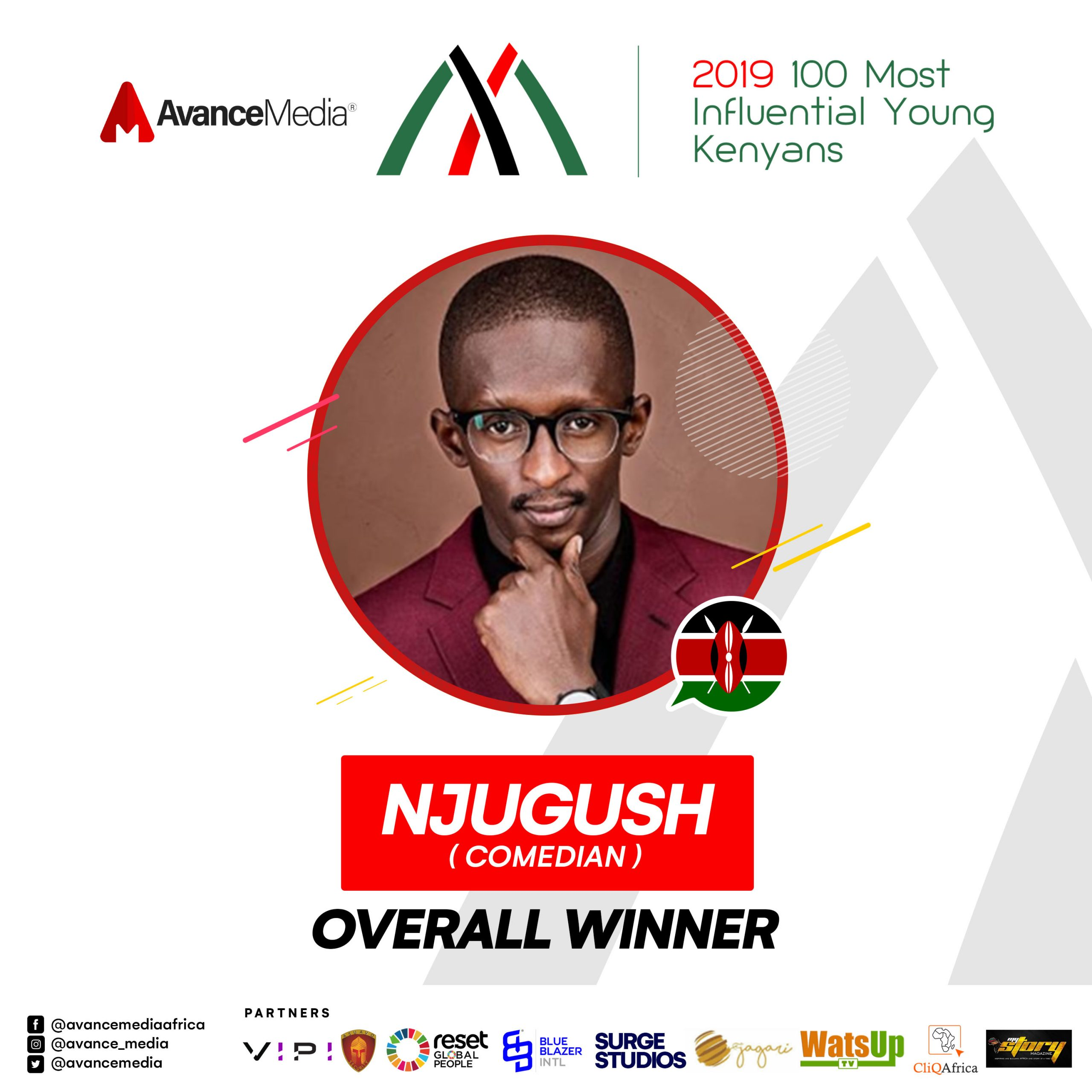 Njugush Voted 2019 Most Influential Young Kenyan