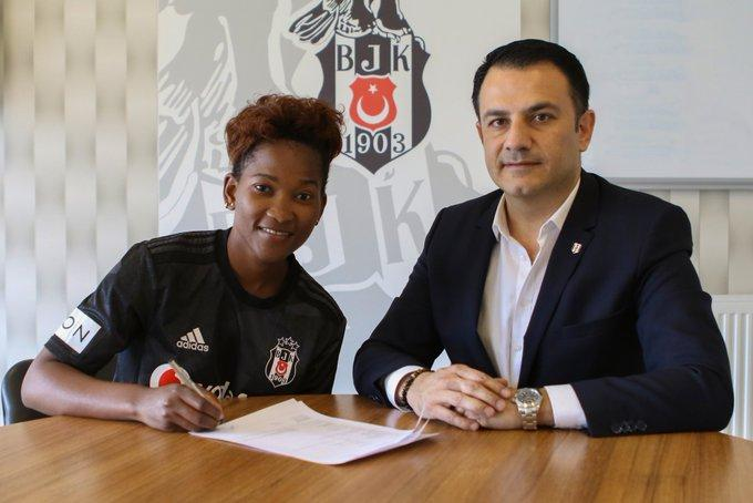 Harambee Starlets striker Essie Akida signs a two-year professional contract with Besiktas
