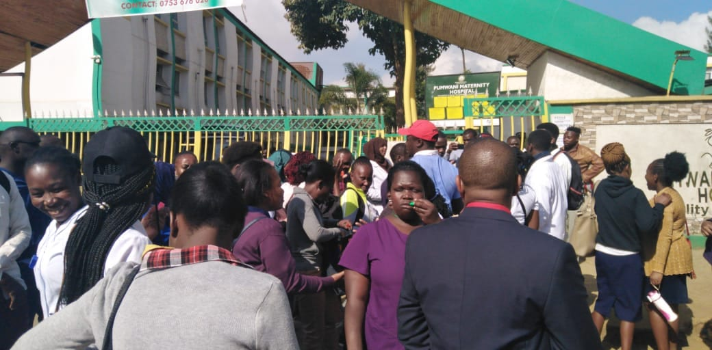 Health service grounded at Pumwani Maternity hospital as workers strike