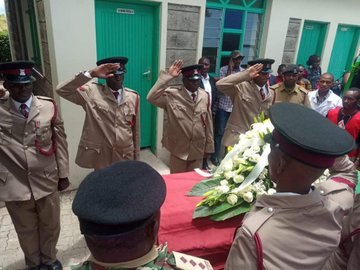 Funeral service for  the late Kipyegon Kenei held as relatives call for speedy investigations into his death