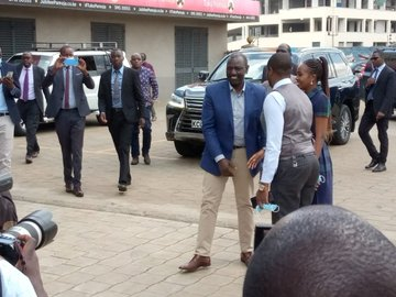 DP Ruto visits Jubilee party HQ for a second day