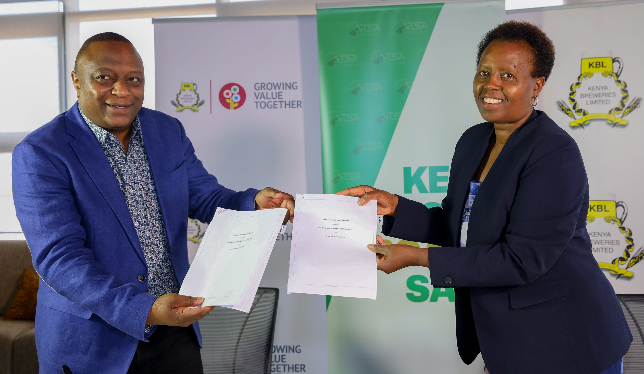 KBL Partners with NTSA to Enhance Road Safety in Kenya