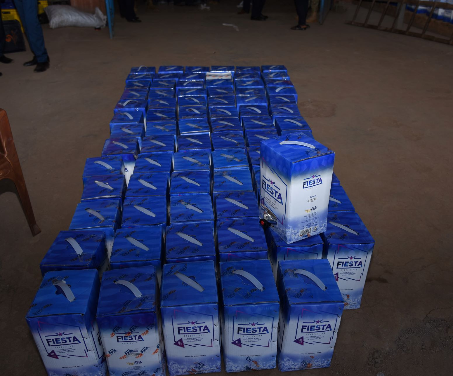 KRA, seize alcoholic products affixed with counterfeit excise stamps worth Ksh. 12 million