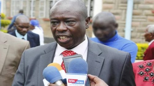 Mathira MP Rigathi Gachagua arrested,grilled at DCI over alleged embezzlement of Ksh. 12.5billion public funds.