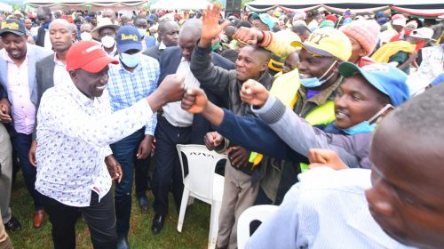 DP Ruto asks politicians to stop interfering with issues of IEBC