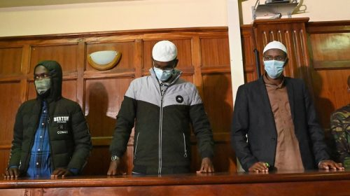 Court sentences two wastegate attack suspects 33 and 18 years in jail respectively.