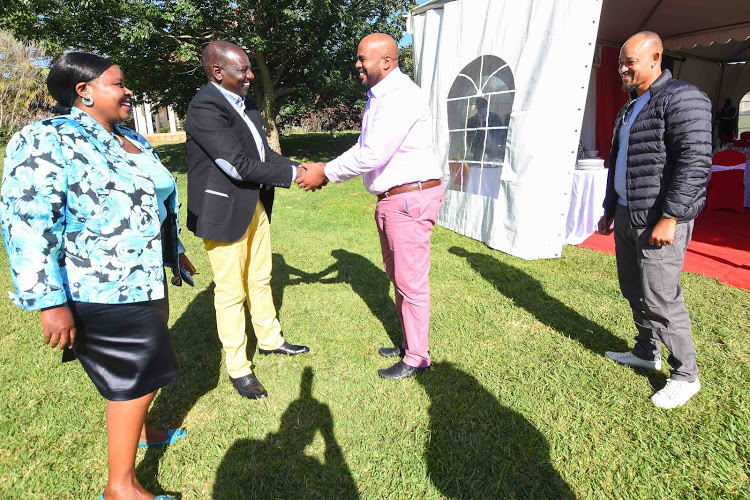 Ruto meets Feisal Bader a day after he was sworn in as Msambweni  mp