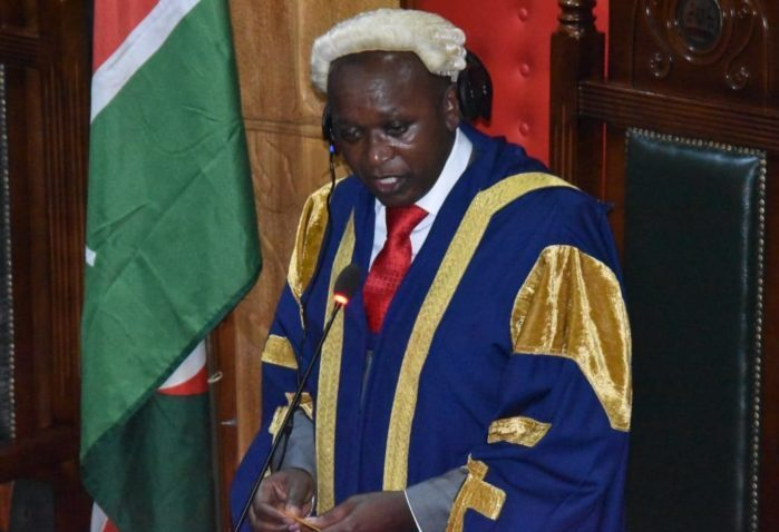 Nairobi County Speaker sworn in to replace impeached Governor Mike Sonko in acting capacity for 60 days