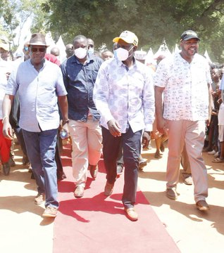 Kenya's economy will not be for corporates only-DP Ruto