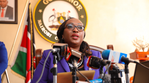 Swearing in of Anne Kananu as Nairobi Governor stopped by court