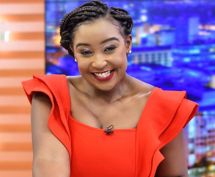 Betty Kyallo makes a come  back at the Mombasa road based Standard Group